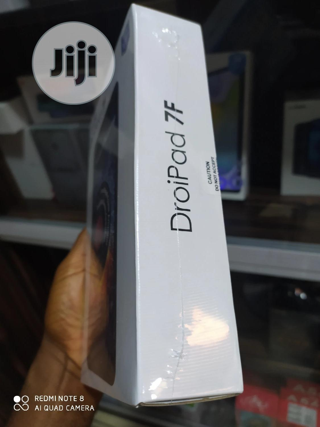 New Tecno DroiPad 7E 16 GB Black | Tablets for sale in Ikeja, Lagos State, Nigeria