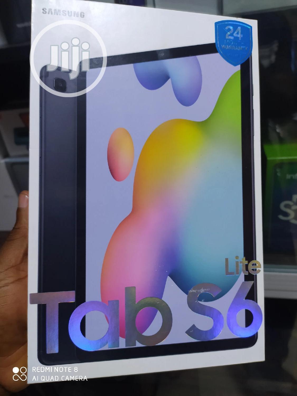 New Samsung Galaxy Tab S6 Lite 64 GB Gray
