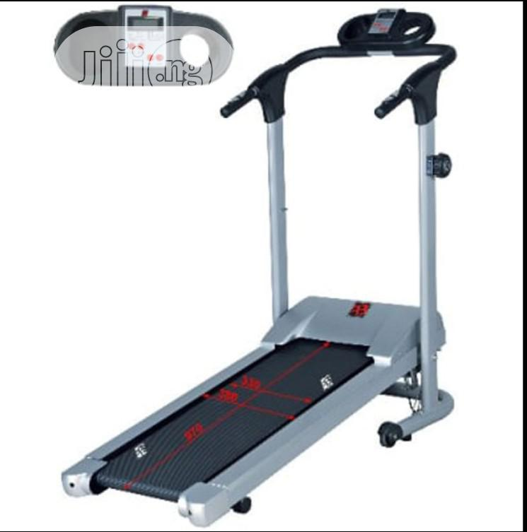 Body Fit Manual Treadmill Runner With Stepper N Twister-Bf