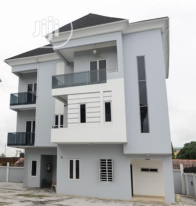 4 Bedroom Fully Detached Duplex With BQ For Sale In Ikeja