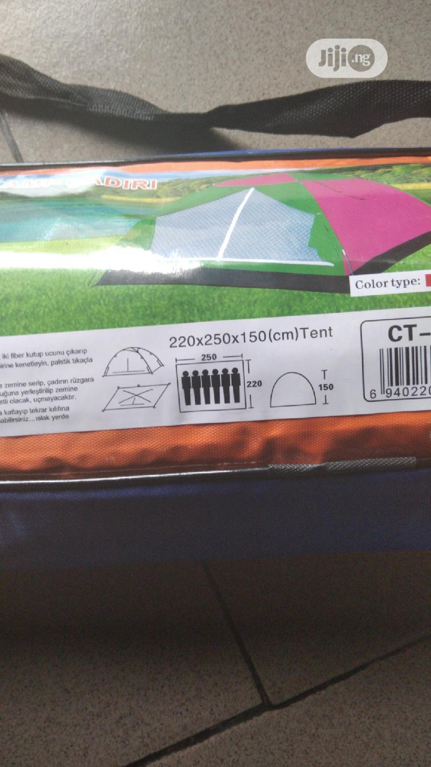 6-man Camping Tent With Mosquito Net - Min. Of 10 Pieces