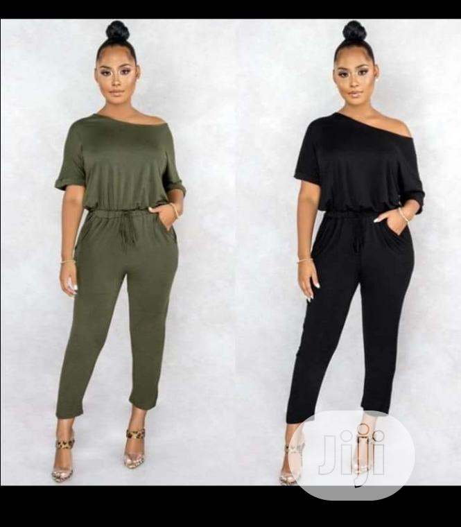 Archive: Long and Short Sleeves Jumpsuits