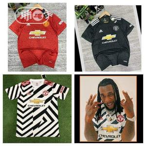 SPORT New Manchester United Home Jersey 2020/21 | Clothing for sale in Lagos State, Surulere
