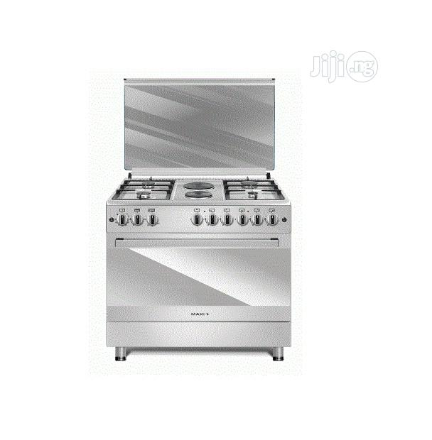 MAXI 4+2 Gas Cooker 60 * 90 PLUS INOX -O18