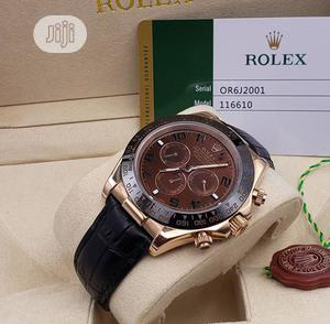 High Quality Rolex Leather Watch   Watches for sale in Lagos State, Magodo