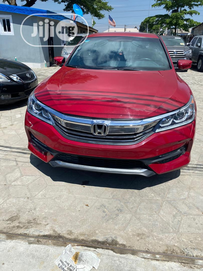 Honda Accord 2016 Red