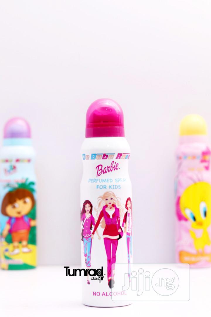 Perfumed Body Spray for Kids - Barbie Pink (150ml)