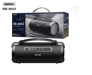 REMAX RB-M43 Outdoor Bluetooth Speaker, Powerful Subwoofer   Audio & Music Equipment for sale in Lagos State, Ikeja