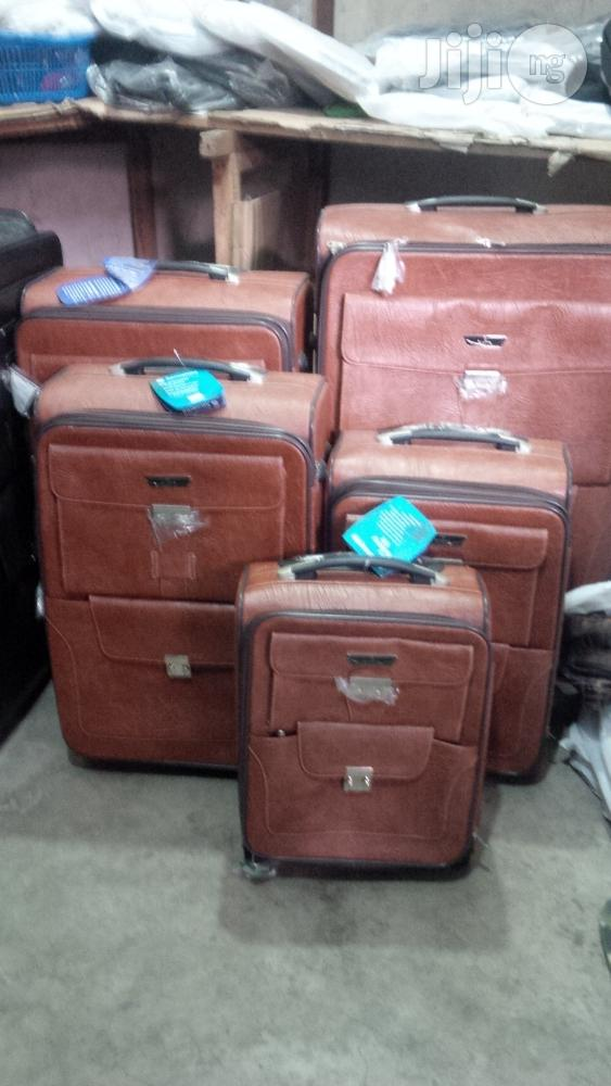Sensamite 5set Leather Luggage