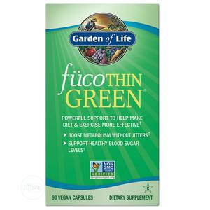 Garden of Life Fucothin GREEN X90 (Weight Loss /Fat Burner) | Vitamins & Supplements for sale in Lagos State, Lekki