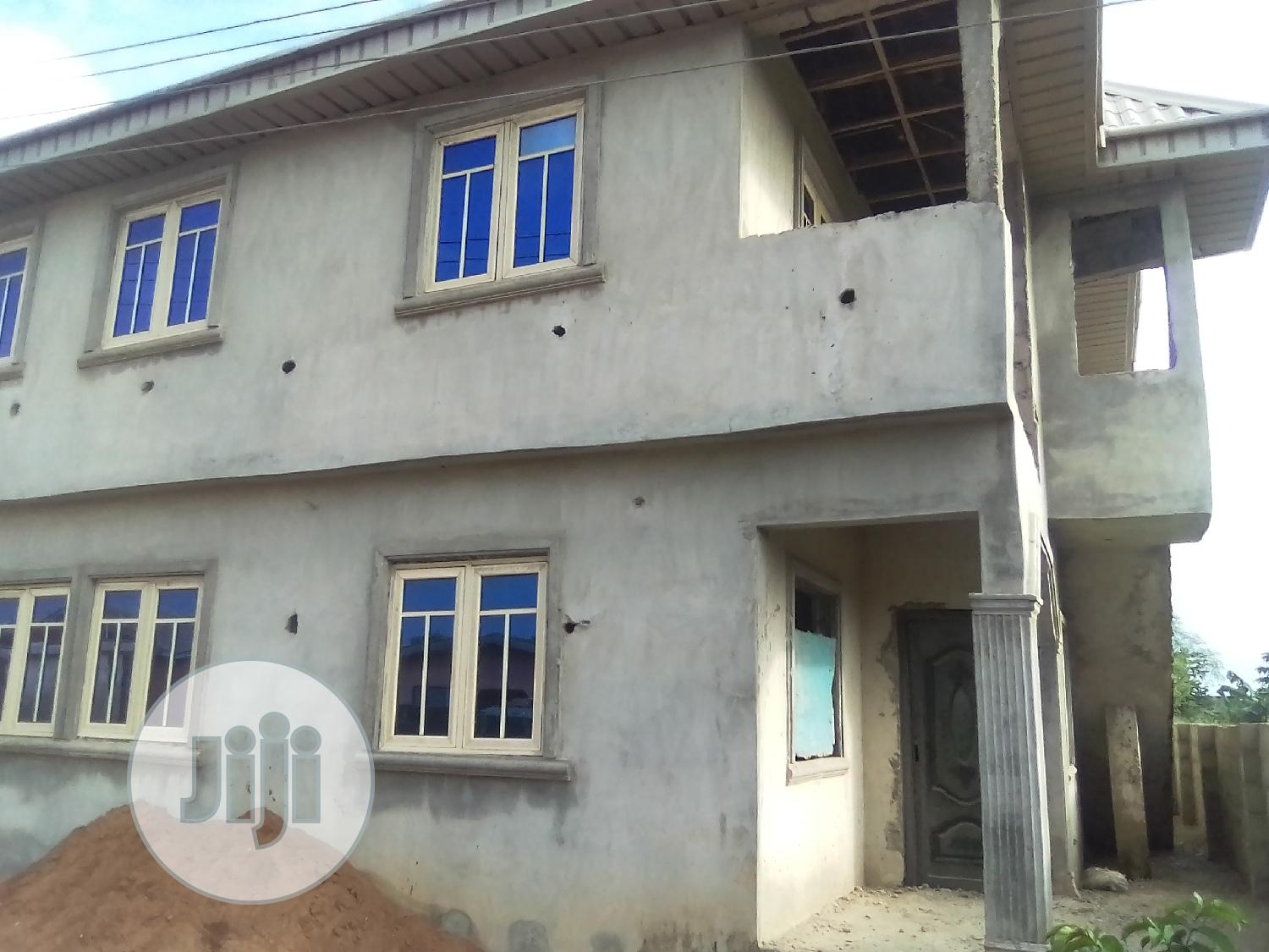 Well Built Duplex For Sale With Registered Survey, Deed And Land Receipt
