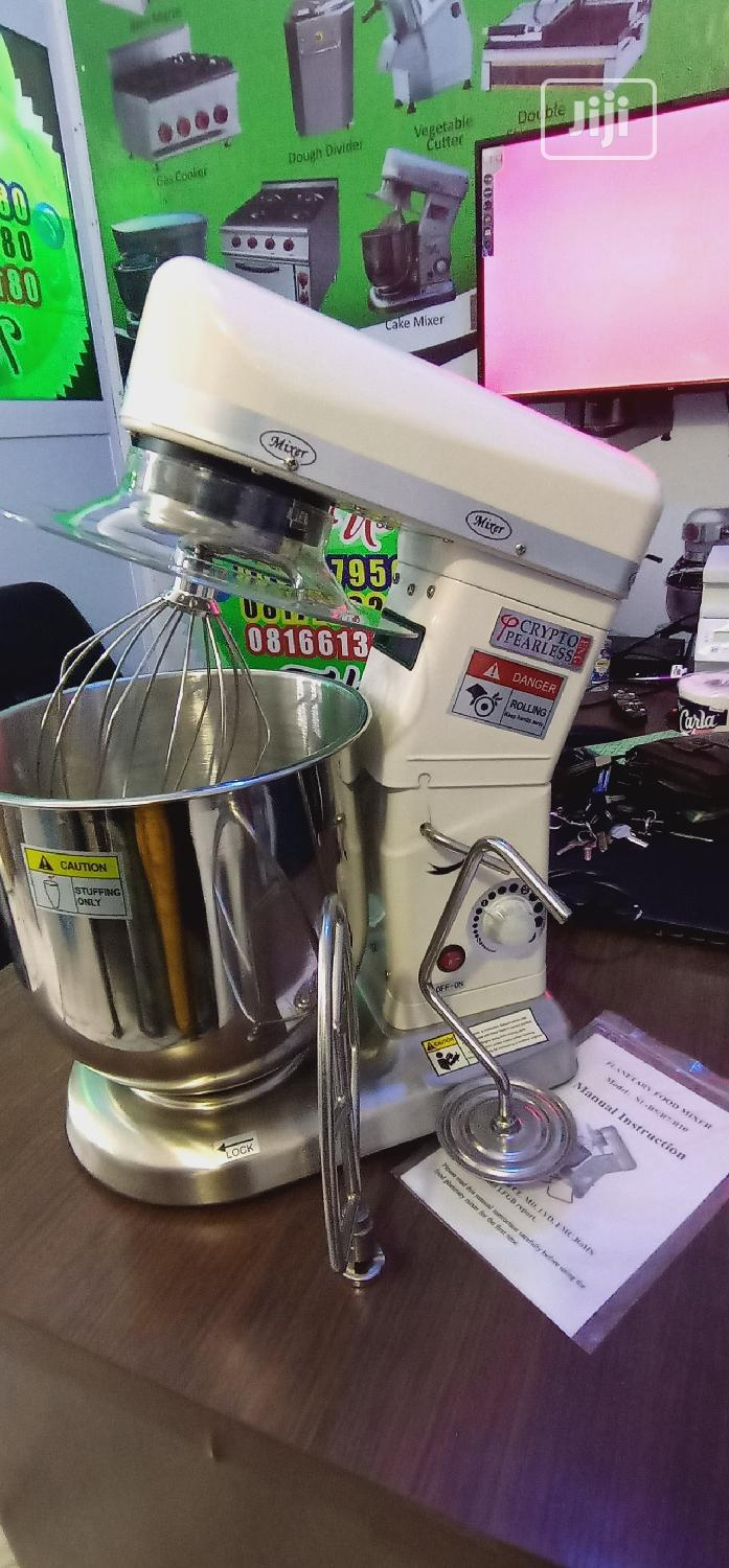 Archive: 10litres Table Top Cake Mixer