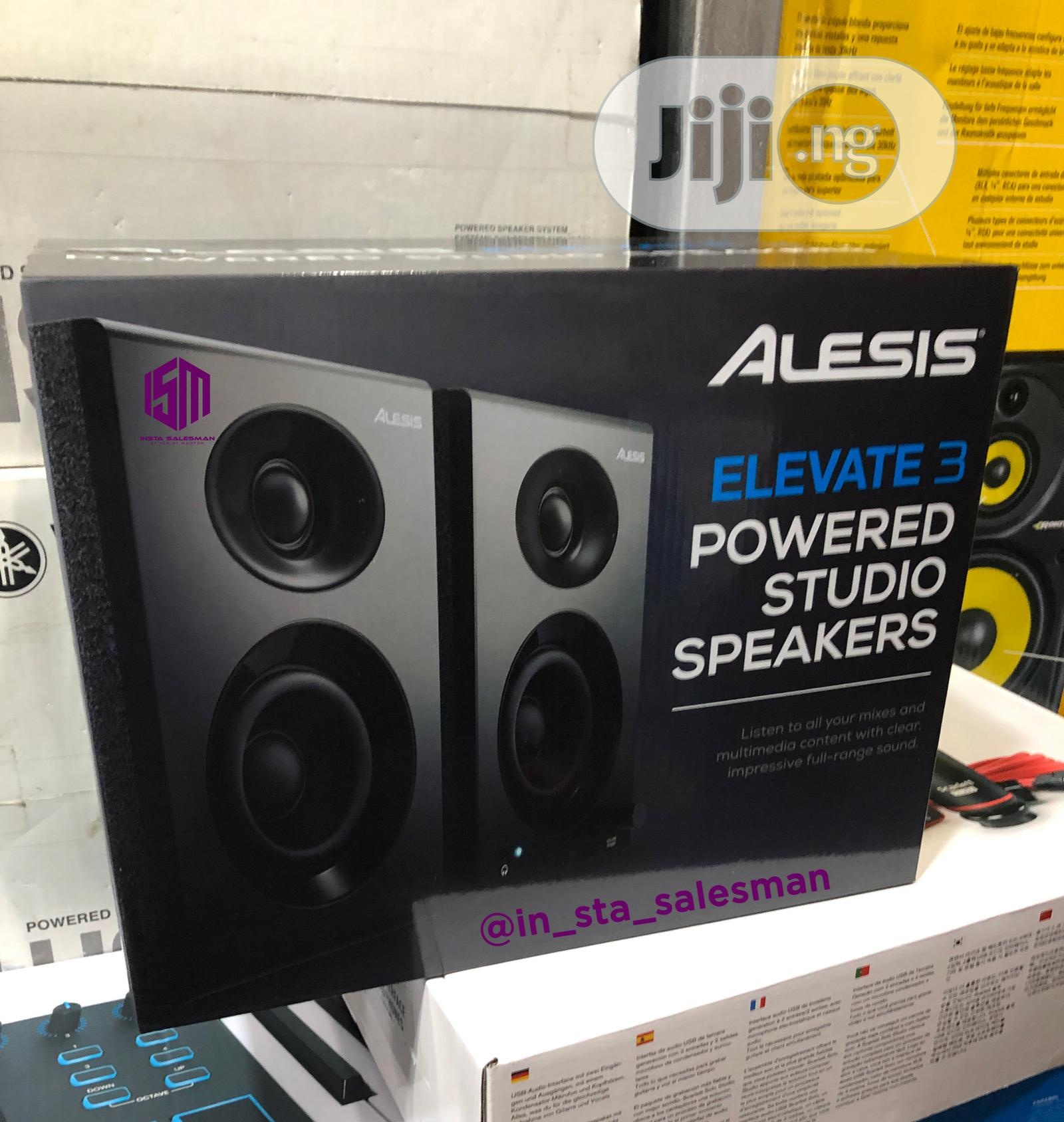 Alesis Elevate 3 Powered Studio Monitors