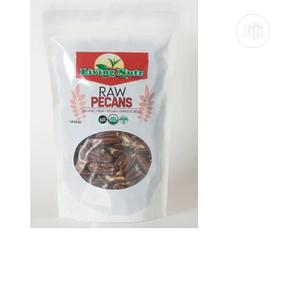 Living Nutz Organic Raw Pecans 16oz Nuts Halves US Grown | Meals & Drinks for sale in Lagos State, Amuwo-Odofin