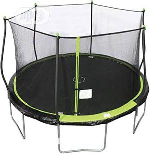 American 14ft Steel Flex Bounce Pro Trampoline With Encloure   Sports Equipment for sale in Rivers State, Port-Harcourt