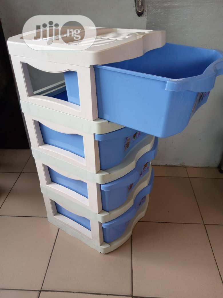 Baby Storage Rack / Wardrobe | Children's Furniture for sale in Ikeja, Lagos State, Nigeria