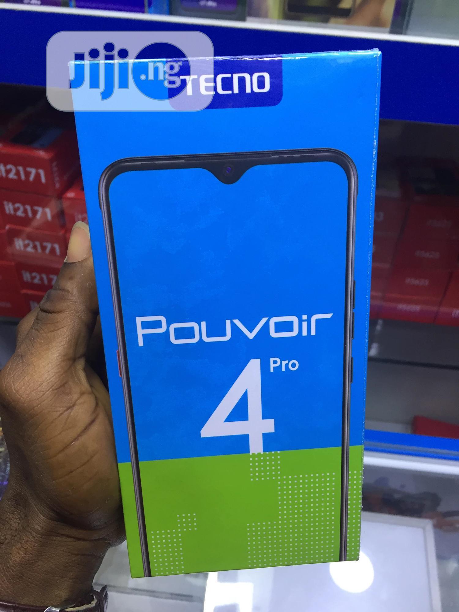 New Tecno Pouvoir 4 Pro 128 GB | Mobile Phones for sale in Ikeja, Lagos State, Nigeria