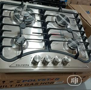 Polystar Built in Gas Hob (4burners)   Kitchen Appliances for sale in Kwara State, Ilorin East