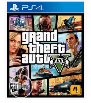Playstation 4- GTA V | Video Games for sale in Lagos State, Ikeja