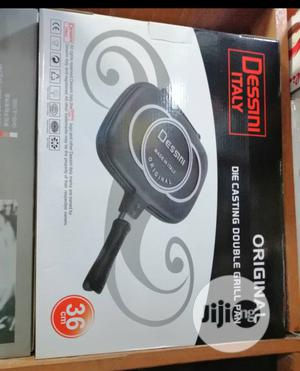 Dessini Double Sided Non Stick Grill/Frying Pan | Kitchen & Dining for sale in Lagos State, Abule Egba