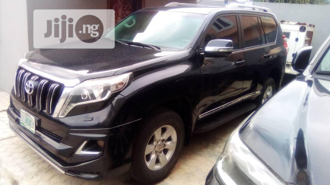 Toyota Land Cruiser Prado 2015 Black   Cars for sale in Lekki, Lagos State, Nigeria