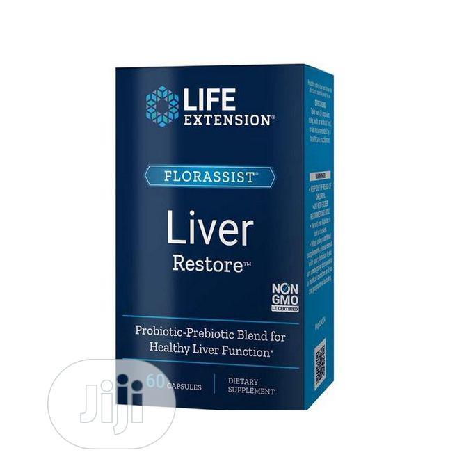 Life Extension Florassist Liver Restore 60 Caps Liver Probio