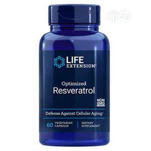Life Extension Optimized Resveratrol Activate Your Longevity | Vitamins & Supplements for sale in Lagos State, Amuwo-Odofin