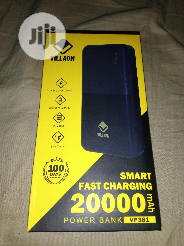 20,000mah Villaon Powerbank