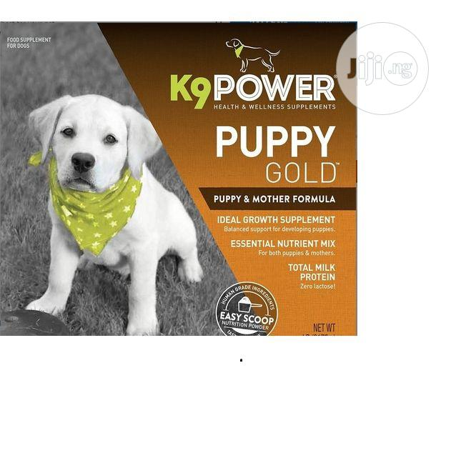 K9power Puppy Gold Nutritional Dietary Puppy Supplement | Pet's Accessories for sale in Amuwo-Odofin, Lagos State, Nigeria