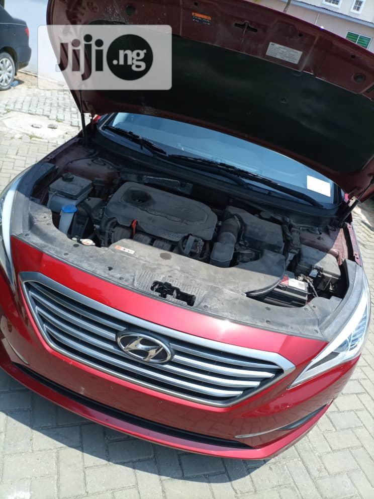 Hyundai Sonata 2015 Red   Cars for sale in Ikoyi, Lagos State, Nigeria