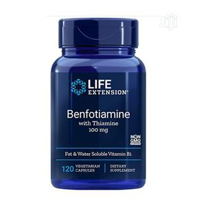 Life Extension Mega Benfotiamine 250 Mg Vitamin B1 (Thiamine | Vitamins & Supplements for sale in Lagos State, Amuwo-Odofin