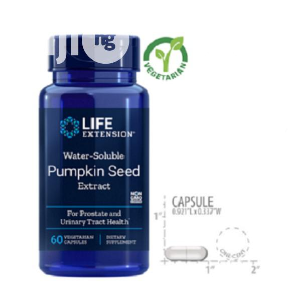 Life Extension Water-Soluble Pumpkin Seed Extract, 60 Vegeta