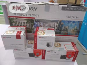 Hikvision Audio/ Video CCTV 8channels Kit DS-7208HGHI-F1 | Security & Surveillance for sale in Lagos State, Ikeja