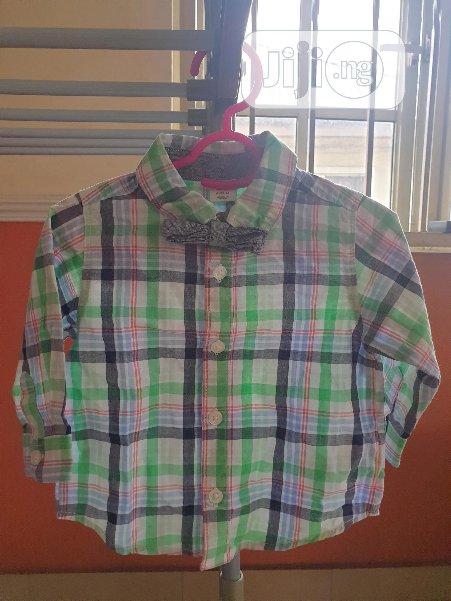 Oshkosh Shirt With Bow Tie
