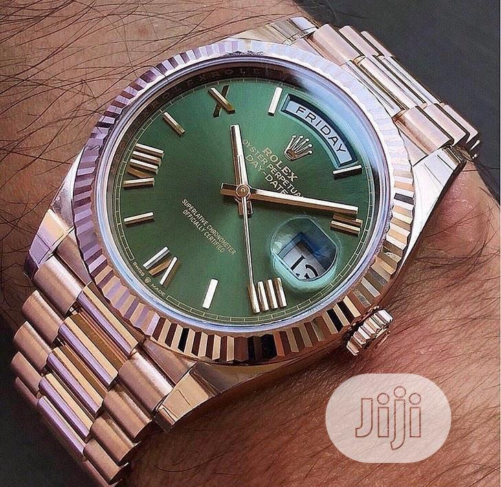 Rolex Presidential Bronze Color