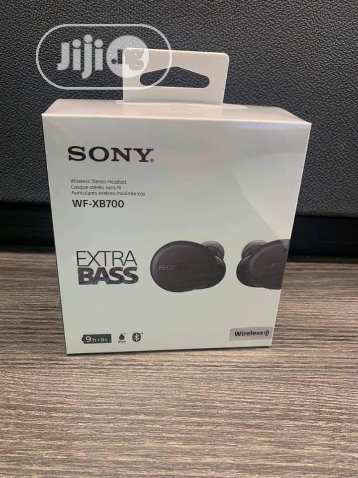 Sony Extra Bass Wireless Headset WF-XB700   Headphones for sale in Ikeja, Lagos State, Nigeria