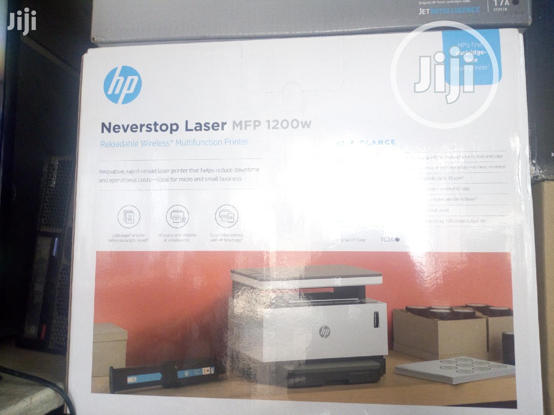 HP Laser 1200w Wireless Printer - Print Scan. Copy