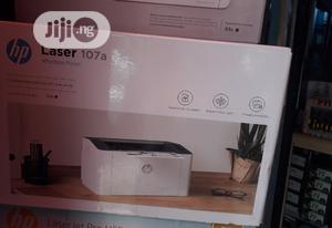 HP Laserjet Pro M107a Monochrome Printer   Printers & Scanners for sale in Lagos State, Ikeja
