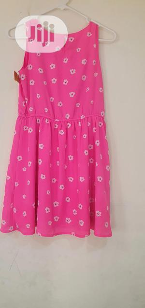 Girls Foral Pink Dress   Children's Clothing for sale in Lagos State, Lekki