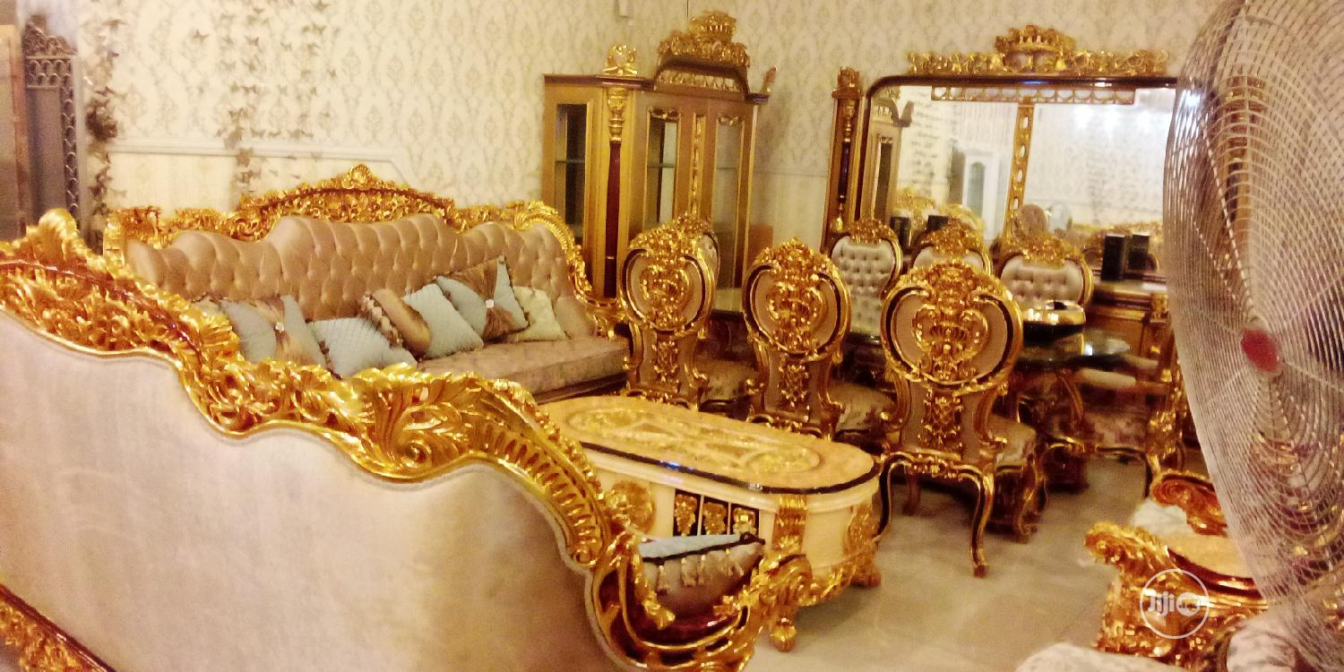 Archive: Complete Set Of Turkish Royal Sofa Chair And Dining Set