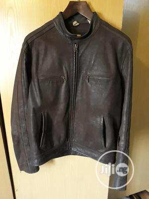 Vintage Leather Jacket By Timberland | Clothing for sale in Lagos State, Victoria Island