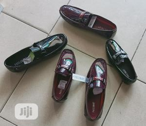 Black And Burgundy Red Loafers | Children's Shoes for sale in Lagos State, Lagos Island (Eko)