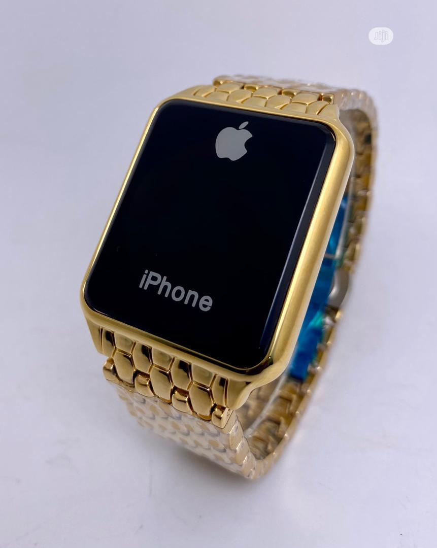 iPhone Wristwatch GOLD