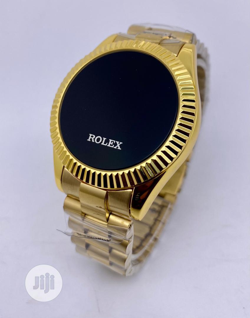 Original Designer Gold, Silver Wristwatch