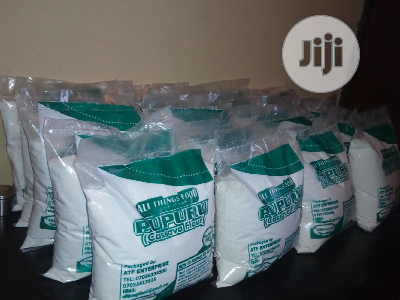 Cassava Flour (PUPURU/AKPU)