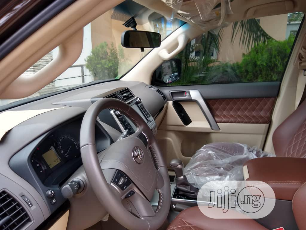 Archive: Toyota Land Cruiser Prado 2020 Brown