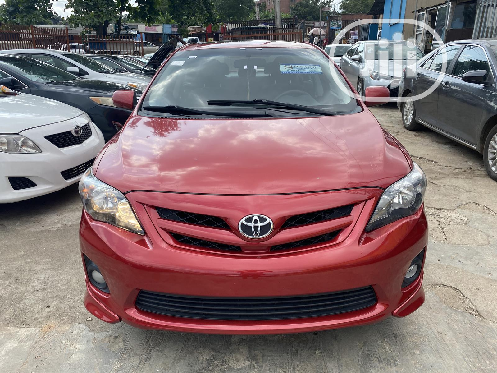 Toyota Corolla 2012 Red In Magodo Cars Shogo Global Autos Jiji Ng For Sale In Magodo Buy Cars From Shogo Global Autos On Jiji Ng