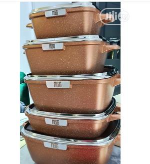 Granite Pot Set 5 | Kitchen Appliances for sale in Lagos State, Lekki