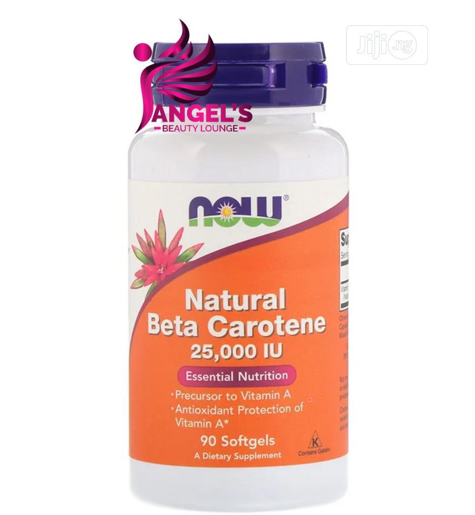 Now Foods Natural Beta Carotene IU 90 Softgel