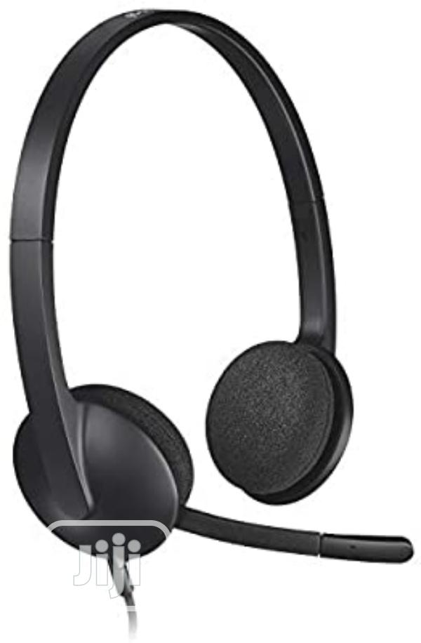 Logitech USB Headset H340 | Headphones for sale in Port-Harcourt, Rivers State, Nigeria